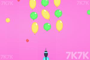 《飞镖戳气球》游戏画面2