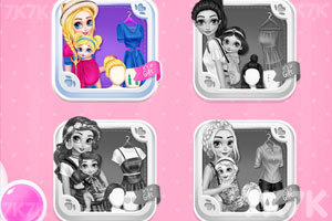 《时尚的大小公主》游戏画面2