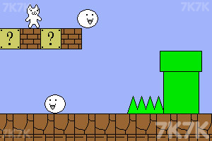 《猫里奥无敌版》游戏画面1