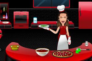 《新娘蔬菜比萨》游戏画面1