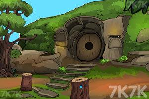 《部落森林洞穴逃脱》游戏画面2