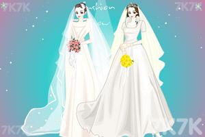 《美丽新娘换装》游戏画面3