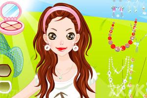《打扮田园美女》游戏画面1