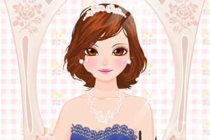 《打扮气质美女》游戏画面1