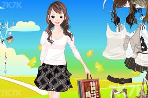 《美女服饰搭配》游戏画面1