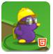 紫色鼴鼠莫利