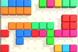 《快乐方块消消看》游戏画面1