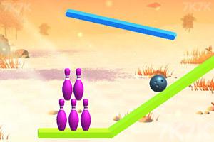 《绳索保龄球》游戏画面1