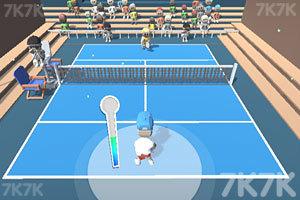 《职业网球比赛》游戏画面3
