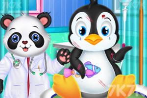 《找动物医生看病》游戏画面2