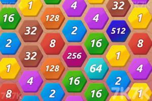 《六边消除2048》游戏画面2