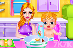 《妈妈和宝贝的假日》游戏画面2