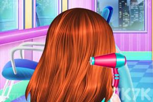 《宝贝的创意发型》游戏画面2