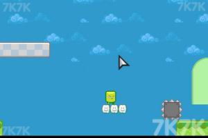 《绿色方块大冒险》游戏画面3