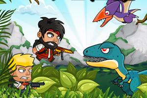 《迪诺兄弟丛林冒险》游戏画面1