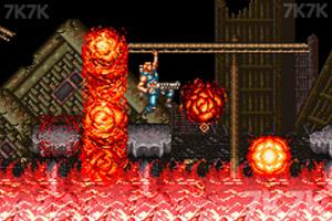 《超级魂斗罗3无敌版》游戏画面2