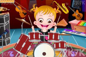 《可爱宝贝乐器行》游戏画面1