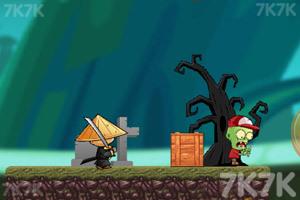 《忍者VS僵尸》游戏画面3