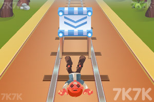 《铁路跑酷无敌版》游戏画面2