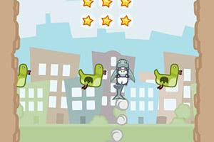 《火箭萌兔无敌版》游戏画面1
