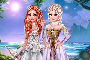 《梦幻森林的公主》游戏画面1