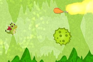 《贪吃的小火龙》游戏画面1