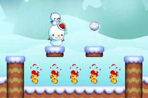 《雪人历险记》游戏画面1
