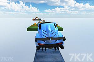 《空中飞车挑战赛》游戏画面1