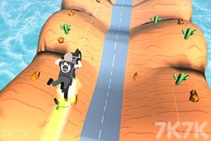 《自行车山丘大赛》游戏画面2