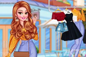 《时尚丽人》游戏画面2