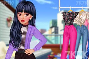《时尚丽人》游戏画面1