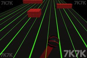 《快速滚动球》游戏画面2