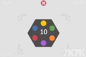 《旋转六边形》游戏画面3