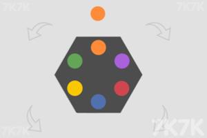 《旋转六边形》游戏画面1