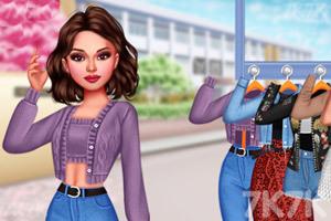 《星级时尚穿搭》游戏画面1