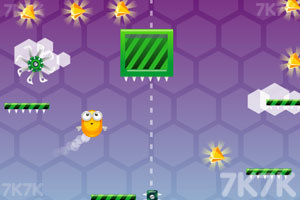 《蜜蜂集宝石》游戏画面1