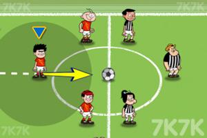 《弹射足球大赛》游戏画面1