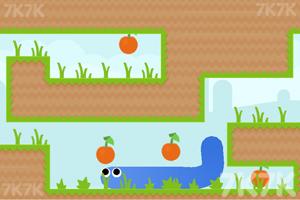 《小蛇吃蘋果》游戲畫面1