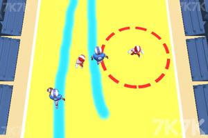 《画线橄榄球》游戏画面3