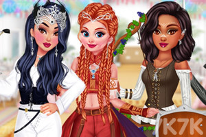 《骑士公主装扮》游戏画面1