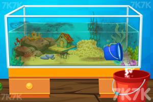 《清理水族馆》游戏画面2