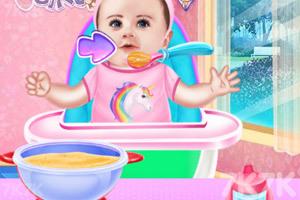 《宝贝泰勒照顾小宝宝》游戏画面1