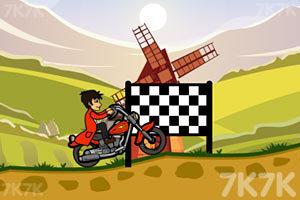 《山地摩托挑战赛》游戏画面1