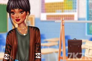 《女团在校穿搭》游戏画面4