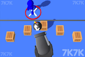 《疯狂的大炮》游戏画面1