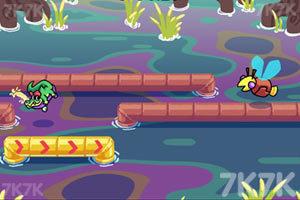 《鳄鱼速滑挑战》游戏画面2