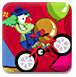 马戏团自行车表演