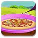 羊肉的披萨