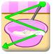 桃子奶油蛋糕