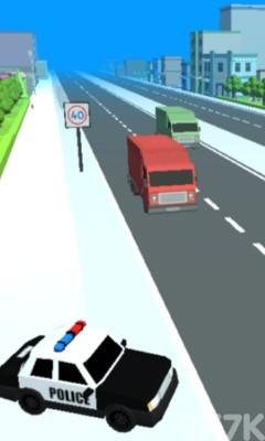 《交警查车》游戏画面1